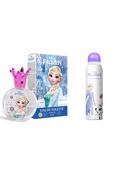 Frozen Elsa 50 ml Edt Parfüm + 150 ml Deodorant