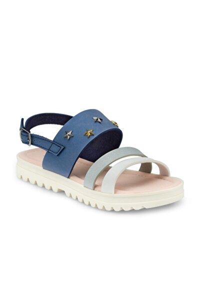 512477.F Mavi Kız Çocuk Sandalet 100499833