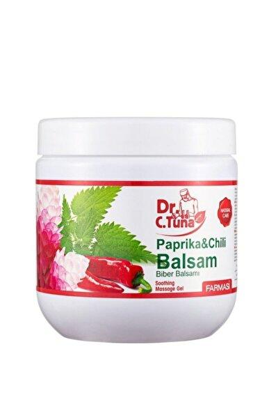 Dr. C.Tuna Paprika Biberli Balsam Masaj Jeli - 500 ml