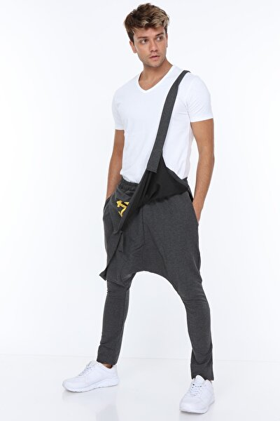Erkek Antrasit Şalvar Pantolon