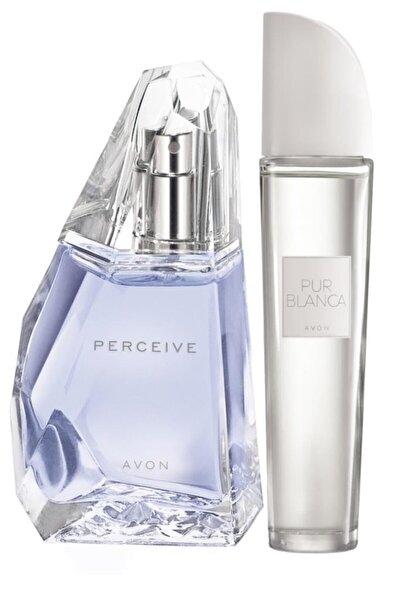 Perceive Edp 50 ml Kadın Parfüm+Avon Pur Blanca Edt 50 ml Kadın Parfüm 5050000010665