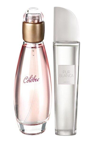 Kadın  Celebre Parfüm Edt 50 ml +  Pur Blanca Kadın Parfüm Edt 50 ml