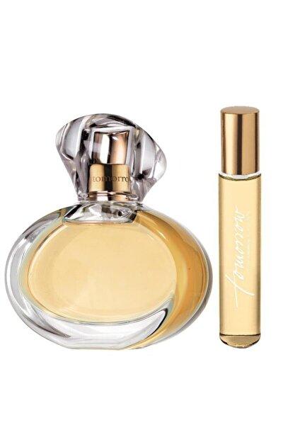 Kadın Tomorrow Parfüm Edp 50 ml +  Tomorrow Kadın Parfüm Edp 10 ml Parfüm Seti