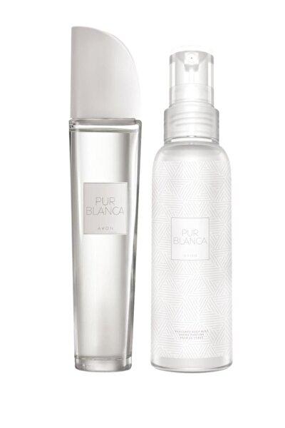 Pur Blanca Kadın Parfüm Edt 50 ml. Pur Blanca Vücut Spreyi 100 ml. 5050000010962