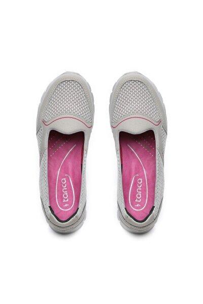 Kadın Gri Comfort Ayakkabı 249 61025 BN AYK
