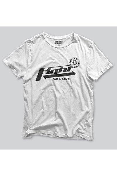 Unisex T-shirt Baskılı Pamuklu