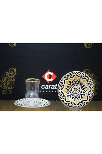 Carat 6 Lı Çay Bardağı Lale