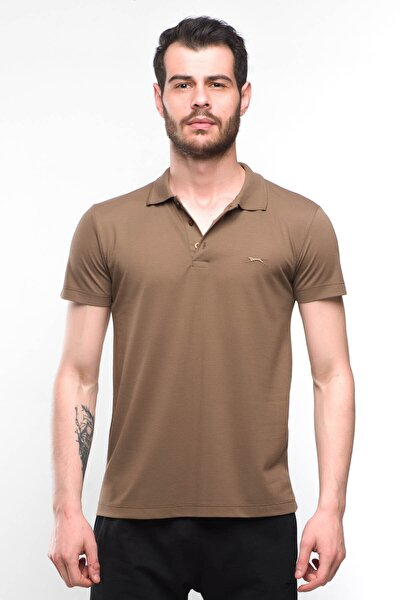 Salvator Erkek T-shirt Kahve