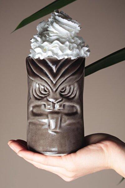 Tiki Mug Kupa 12,5*8 Cm Kahve