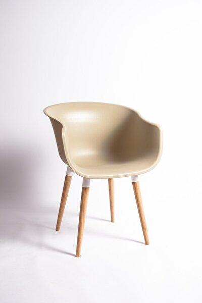 Sandalye Fabrikası Edura Eames Sandalye Kum Beji