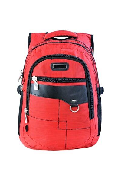 SY-10504 Kırmızı Günlük Seyahat Okul Sırt Çantası