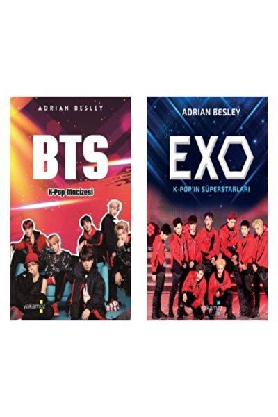 Bts K-pop Mucizesi - Exo K-pop'ın Süperstarları Seti (2'li Kitap) Bts Defter Hediyeli