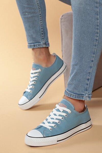 Mavi Günlük Ortopedik Erkek Keten Spor Ayakkabı  DXTRMCONT005