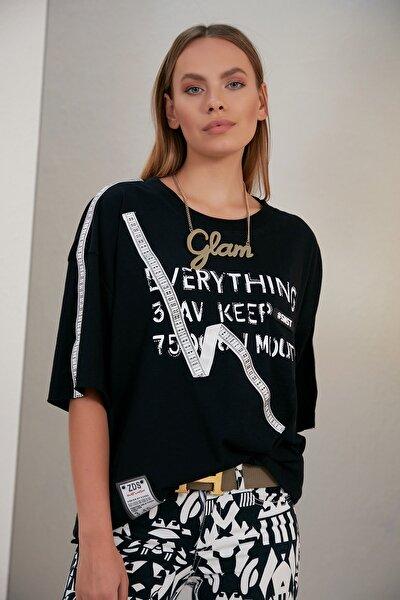 Kadın T-shirt Mezura