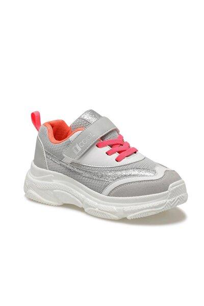 Chunky F Gri Kız Çocuk Yürüyüş Ayakkabısı