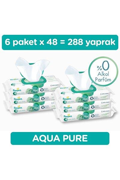 Islak Havlu Aqua Pure 48*6 (288 Yaprak)