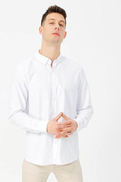 Erkek Beyaz Gömlek 504396653 Boyner