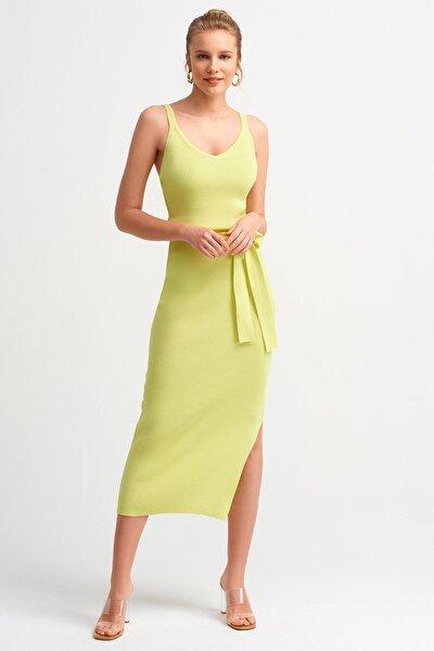 Kadın Lime 2616 Askılı Elbise 101A02616