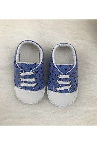 Erkek Bebek Mavi Ayakkabı