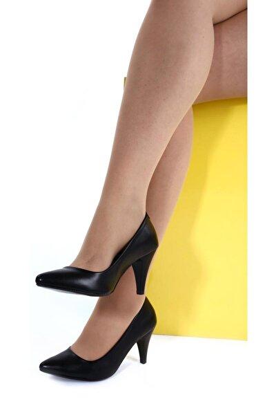 Siyah Kadın Topuklu Ayakkabı 1942-71-1604
