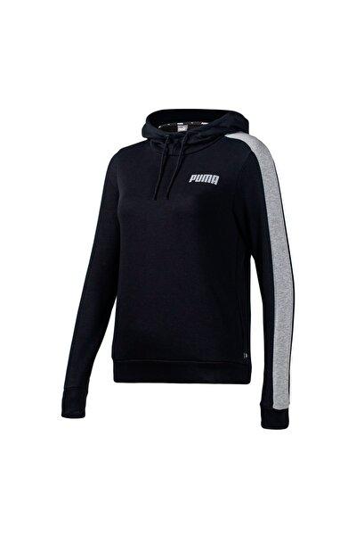 CONTRAST HOODY TR W Siyah Kadın Sweatshirt 101119491