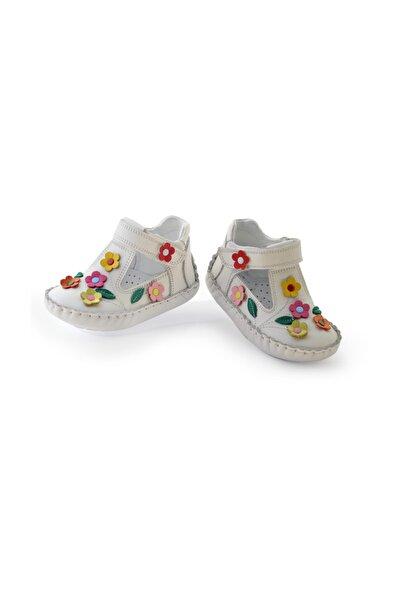 İlkadım Hakiki Deri Kız Bebek Çocuk Ortopedik Ayakkabı Patik