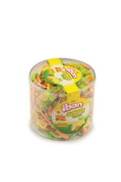 Ibon Ginger Zencefil-limon-bal-karamel 1000 Gr Silindir