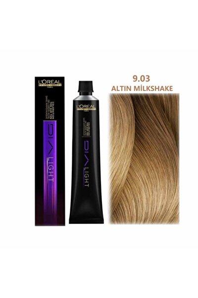 Dia Light 9.03 Altın Milkshake Saç Boyası 50 ml