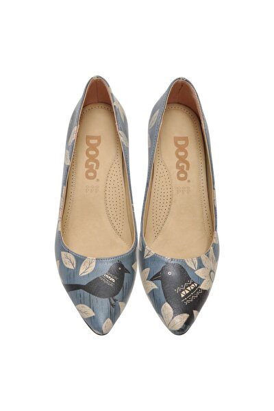 White Flowers Kadın Topuklu Ayakkabı