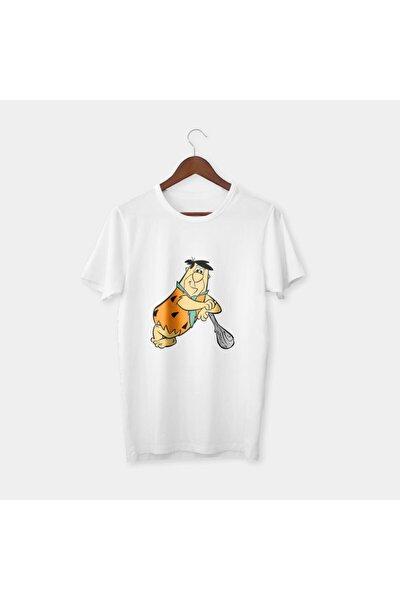 Taş Devri Fred Normal Kalıp Tişört