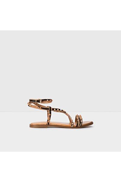 Kadın Natürel Bej Sandalet