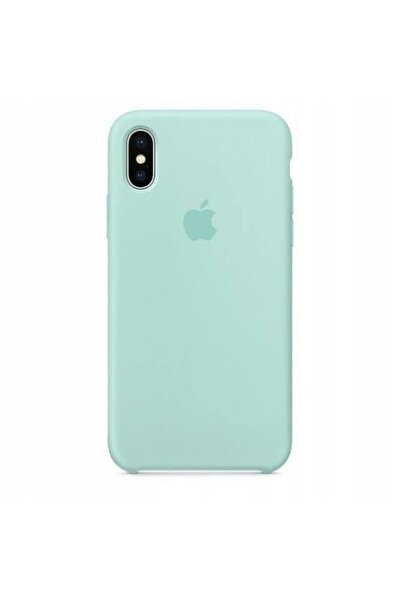 Iphone X/xs Silicone Case Marine Green