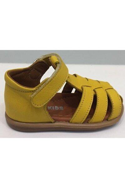 Kız Çocuk Deri Sandalet Ilk Adım Ayakkabısı Pappikids270-3ortopedik