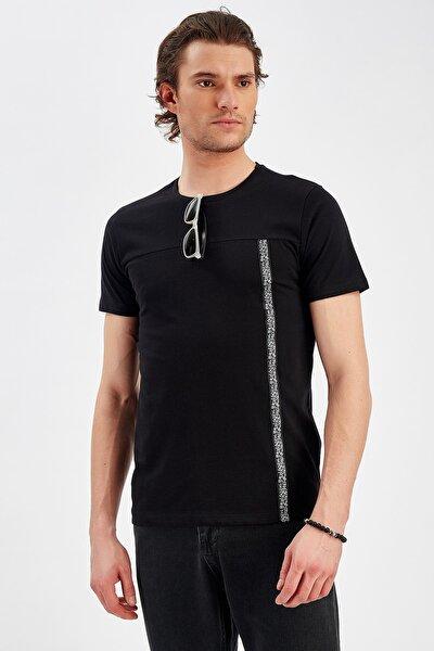 Siyah Erkek T-shirt | Me20s214565