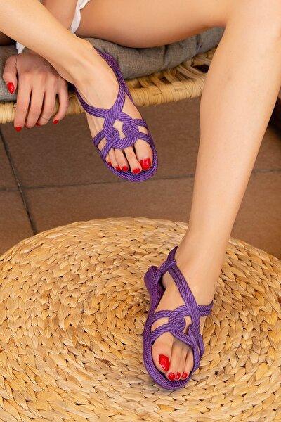 Mor Kadın Sandalet M9999-19-100244R