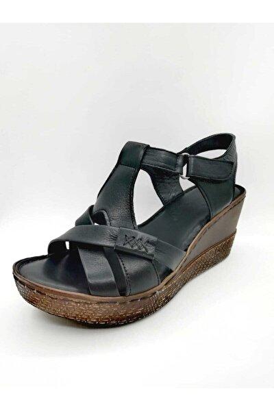 Kadın Sandalet Dolgu Topuk