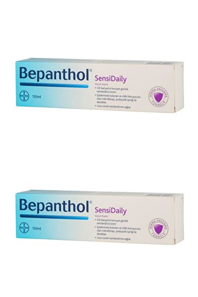 Sensidaily Prebiyotikli Vücut Kremi 150 ml 2 Adet