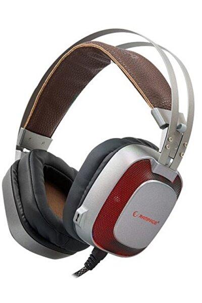 Sn-rw77 Prestıge Metalik Gri Usb 7.1 Ergonomik Tasarım Gizli Mikrofonlu Oyuncu Kulaklık