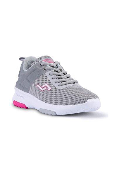 Kadın Gri Fuşya Spor Ayakkabı