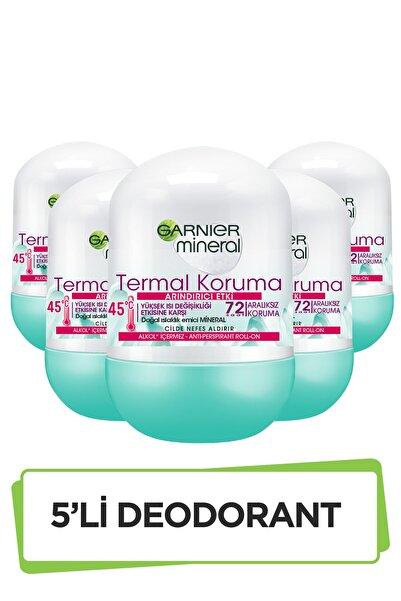 5'li Garnier Mineral Termal Koruma Roll-On Deodorant Seti 36005419289305