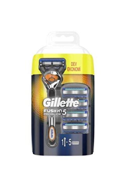Fusion Proglide Tıraş Makinesi + 5 Tıraş Bıçağı