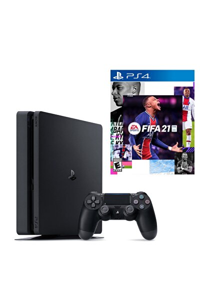 Playstation 4 Slim 500 GB + PS4 Fifa 2021 (Eurasia Garantili)