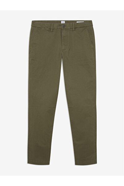 Erkek Yeşil Slim Fit Pantolon