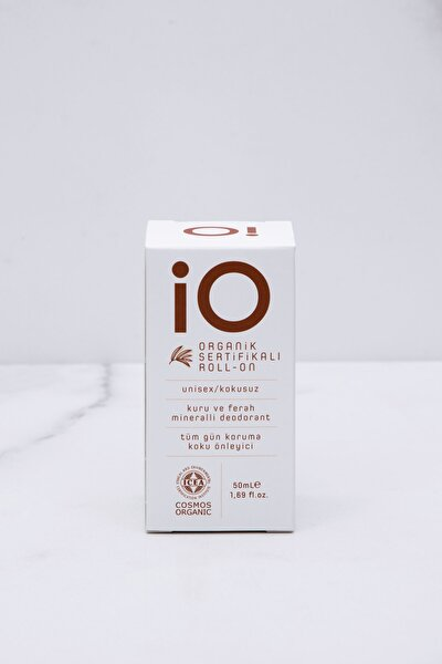 Organik Sertifikalı Roll-on Unisex (unscented/kokusuz)
