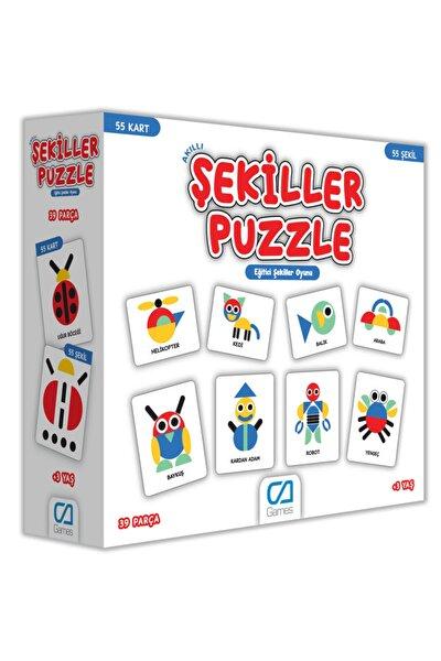 Akıllı Şekiller Puzzle