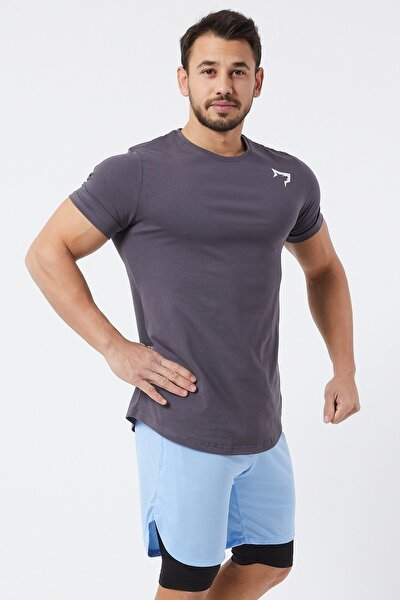Spor Erkek T-Shirt | Füme | T-shirt | Workout Tanktop |