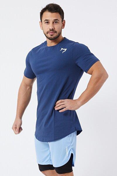 Spor Erkek T-Shirt | İndigo | T-shirt | Workout Tanktop |