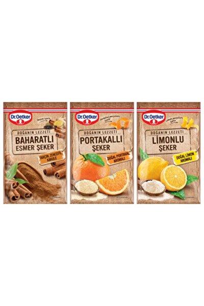 Baharatlı,portakallı,limonlu Şeker Set