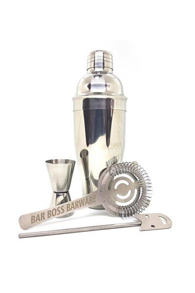 Kokteyl Hazırlama Shaker Seti 750 ml