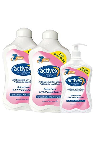 Antibakteriyel Sıvı Sabun Nemlendiricili 1,5+1,5+700ml